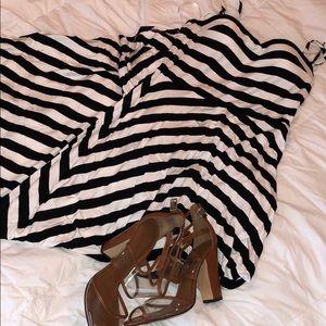 Calvin Klein hi-lo dress